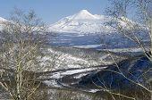 Avacha Volcano Of Kamchatka Peninsula.