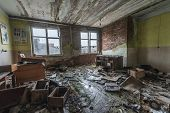 Very old room on abandoned house