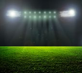 pic of football  - On the stadium - JPG