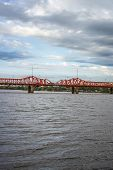 picture of mesopotamia  - Mendez Casariego Bridge over Gualeguaychu River opened in 1931 in Gualeguaychu Entre Rios Argentina - JPG