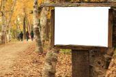 Blank Wooden Frame