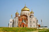 pic of perm  - Holy Cross Cathedral in the Belogorsky Convent in Perm Krai - JPG
