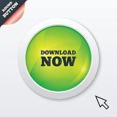 Download now icon. Load button.