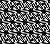 Aggressive Arrows Seamless Pattern. Rasterized Version
