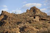 stone shelter in the sonoran desert