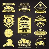 Premium Motorcycle Label Design
