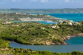 View Of Antigua From Hills