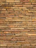 Modern stone brick wall background