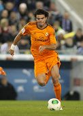 BARCELONA - JAN, 21: Pepe Lima of Real Madrid during the Spanish Kings Cup match between Espanyol an