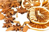 Aromatic Christmas Cookies And Spices