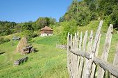 rural area in Kamena Gora, Serbia