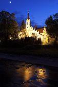 Church In Rymanow Zdroj