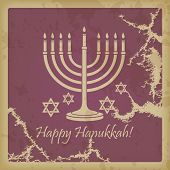 Happy Hanukkah Vintage