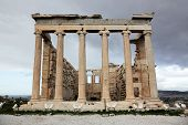 Erechtheum Is An Ancient Greek Temple In Acropolis, Athens