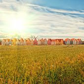 picture of municipal  - Jakriborg is a new classical housing project built in the municipality of Staffanstorp in the Skane region of southern Sweden - JPG