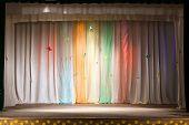 Curtain And Scene