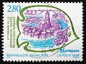 Postage Stamp France 1994 View Of Martigues, France