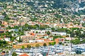 View Of Luxury Resort And Bay Of Villefranche-sur-mer