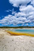 Sunset Lake Thermal Pool Yellowstone
