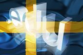 Flag Of Sweden Wavy Education