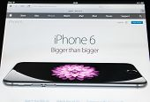 Apple Iphone 6 As Seen On Apple Webpage