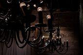 picture of light fixture  - Vintage light fixture  - JPG