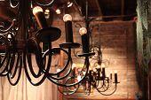 pic of light fixture  - Vintage light fixture  - JPG