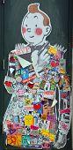 Street art Montreal Tintin
