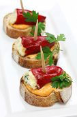 picture of pimiento  - spanish pinchos - JPG