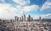image of frankfurt am main  - Skyline of Frankfurt am Main - JPG
