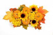 Autumn Centerpiece With Pumpkins