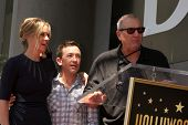 LOS ANGELES - SEP 9:  Christina Applegate, David Faustino, Ed O'Neill at the Katey Sagal Hollywood W