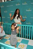 LOS ANGELES - SEP 9:  Roselyn Sanchez, Sebella Rose Winter at the Pampers Event at The Grove on Sept