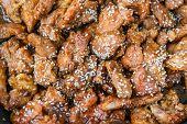 Korean Fried Pork With Sesame