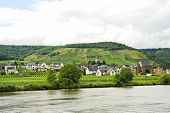 Ellenz Poltersdorf Village On Moselle Riverside