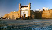Fortres Ark - Ark Entrance - City Of Bukhara
