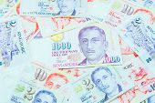 Dollar Singapore Currency