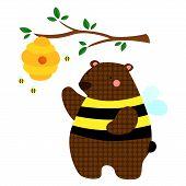 Honeybee Bear