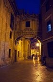 street in historical speak rapidly the cities of Valencia