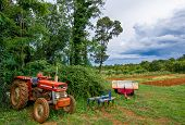 Agricultural Equipment and Tractor and Acre