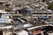Rooftop View, Marpa Village.