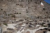 image of mustang  - Rooftop view over Marpa village Mustang Nepal - JPG