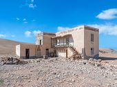Ruin of a house in Fuerteventura
