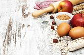pic of oats  - Baking ingredients  - JPG