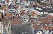 Ghent City's Rooftops, Belgium
