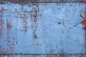 Old Blue Metal Texture