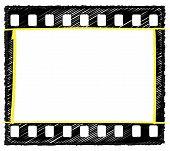 35Mm Frame Sketch Selection markup