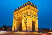 pic of charles de gaulle  - The Triumphal Arch  - JPG