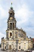 Dresden Frauenkirche (church Of Our Lady) Dresden