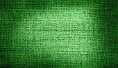 Libya flag on burlap fabric
